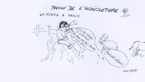 NICOLAS SARKOZY : Soutien les agriculteurs !