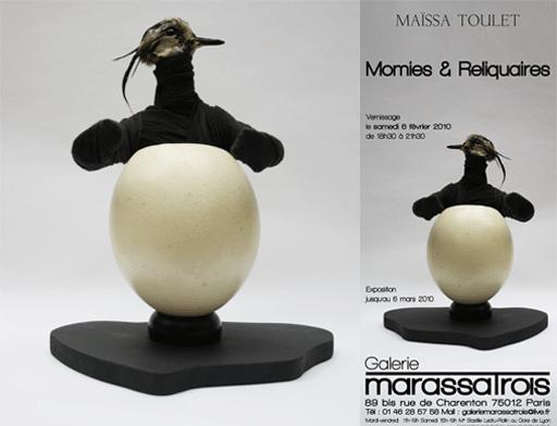 Maïssa Toulet s'enchâsse dans le reliquaire de Marassa Trois