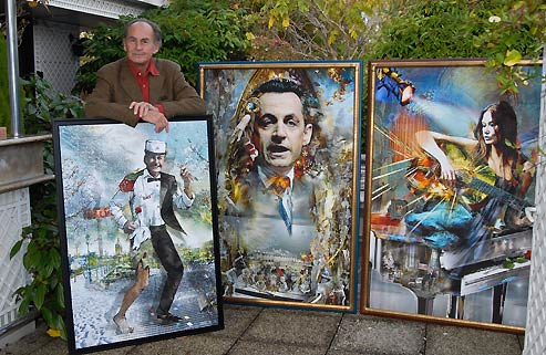 NICOLAS SARKOZY : Le Papa, Pal Sarkozy refait surface.