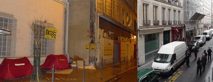 Le squat du Théâtre de verre (Paris, Xe ar.) « assiégé »