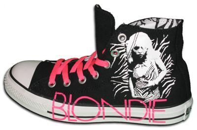Converse: le nouvelle ligne de chaussure par Debbie Harry.