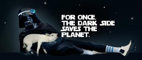 Quand Dark Vador défend l'environnement.