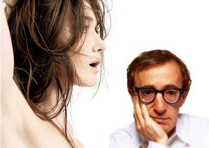 Woody Allen: charmé par Carla Bruni mais déçu.