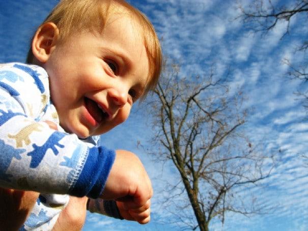 Le bonheur des parents c'est de rendre leurs enfants heureux.