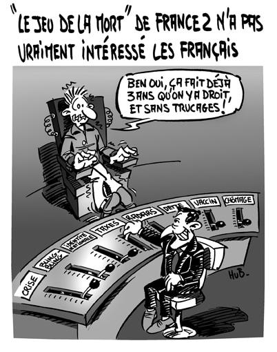 «Le jeu de la mort» sur France 2 était du déjà vu