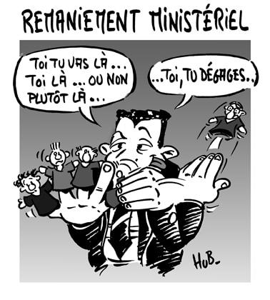 Sarkozy met la dernière main au remaniement