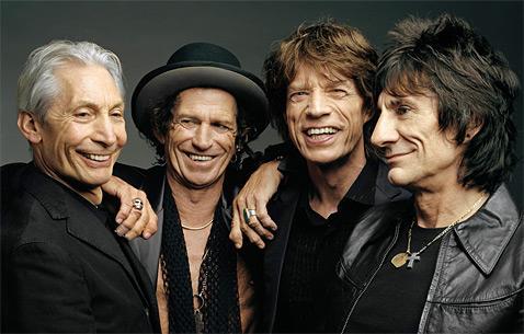 Les Rolling Stones: toujours présents en 2010!
