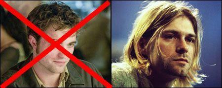 Robert Pattinson bientôt en Kurt Cobain?