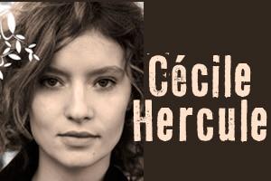 Cecile Hercule et son album : la tête à l'envers