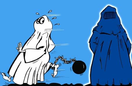 La BURQA fait-elle peur ?