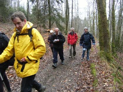 La route de Saint-jacques de Compostelle passe par les Ardennes