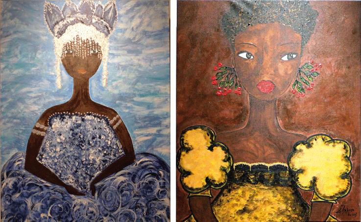 Orixas do candomblé à la galerie Marassa Trois