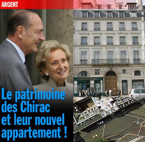 La retraite dorée des Chirac