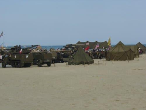 Un camp américain à Canet pour le 8 mai 2010