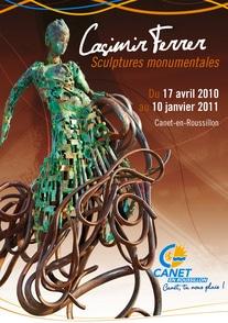 Canet en Roussillon écrin d'une Exposition CASIMIR FERRER