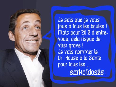 Sarkozy nommera-t-il le Dr House à la Santé ?