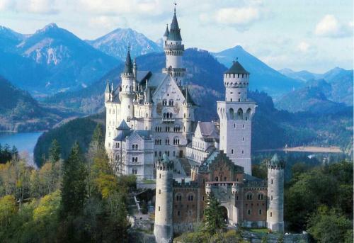 Neuschwanstein, le rêve d'un roi romantique et solitaire