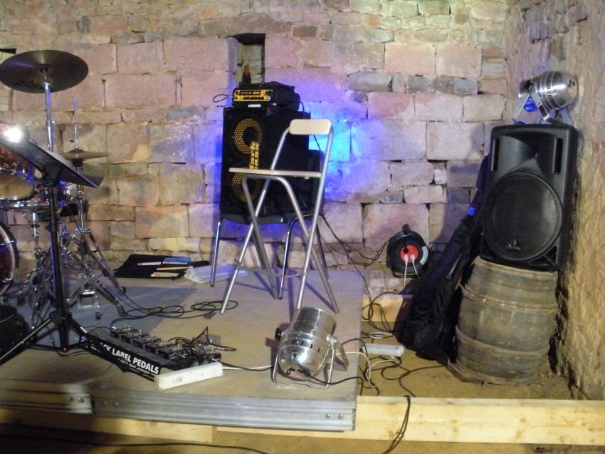 Jazz au château de BOUGEY (70) – 91 habitants au dernier recensement…