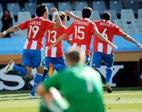 Le Paraguay victorieux devant une Slovaquie…anesthésiée !