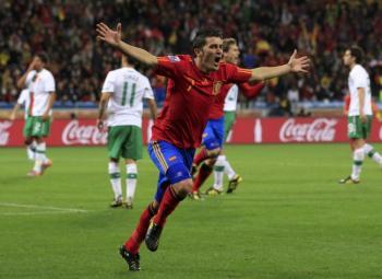 David Villa crucifie le Portugal !