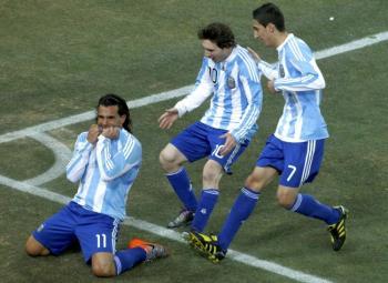 L'Argentine bat le Mexique…floué par l'arbitrage !