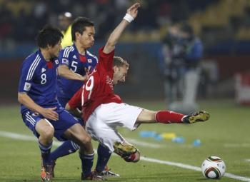 Les Pays-Bas et le Japon en 8ème de finale.