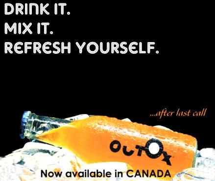 Outox : La boisson anti gueule de bois