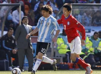L'Argentine écrase la Corée du Sud !