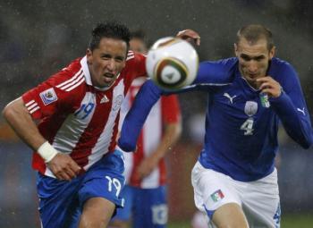 Le Paraguay fait trembler la Squadra Azzura !