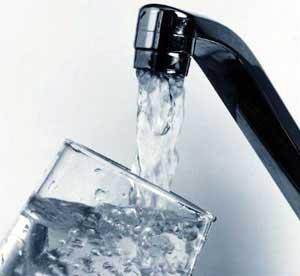 Sale temps pour l'eau du robinet