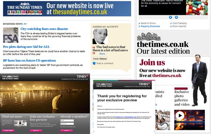 Le Times en ligne gratuit, c'est vraiment fini