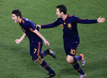 Quel scénario ! l'Espagne élimine le Paraguay.