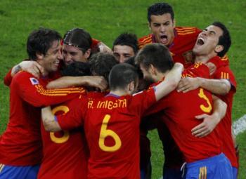L'Espagne s'offre le scalp de la Mannschaft !