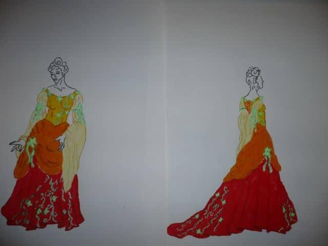 Une robe de mariée de rêve …