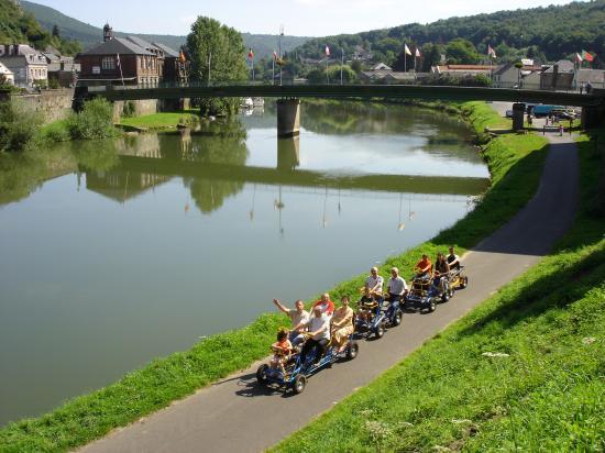 Première course à pied « Trans-Ardennes »
