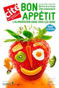 Expo jeunesse : « Bon appétit, l'alimentation dans tous les sens ».