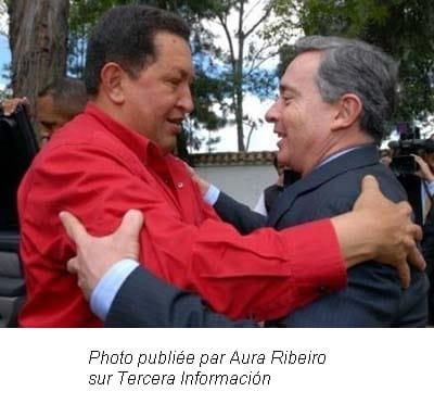 Uribe et Chavez seraient-ils complices ?