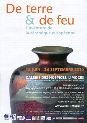 «De Terre et de Feu» une exposition éblouissante à Limoges