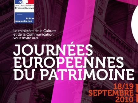 Journées européennes du patrimoine : le grand rendez-vous citoyen pour une mémoire partagée.