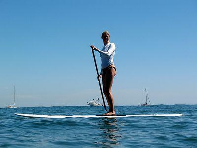 Stand up paddle, le sport à la mode