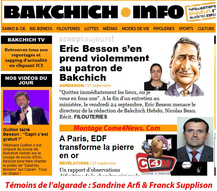 Bakchich/Besson : un Woerthgate chasse l'autre ?
