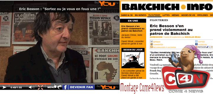 Bakchich/Besson : Le Canard enchaîné patauge ?