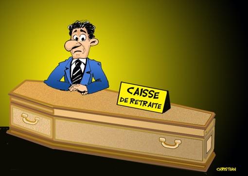 La «CAISSE» de retraite … !