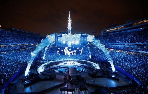 U2 a mis le feu au stade de France