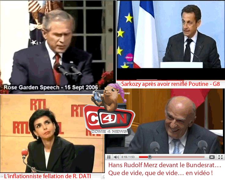 Vidéo hilarante : un ministre suisse fait le buzz autant que Rachida Dati…