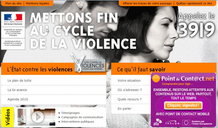 Violences faites aux femmes : l'incitation prend le « relai » Internet