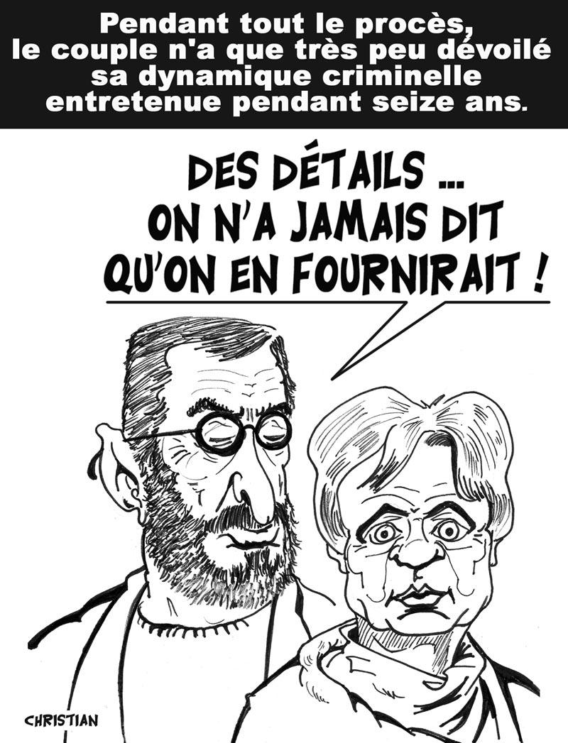 Alliance diabolique : Michel FOURNIRET et Monique OLIVIER,
