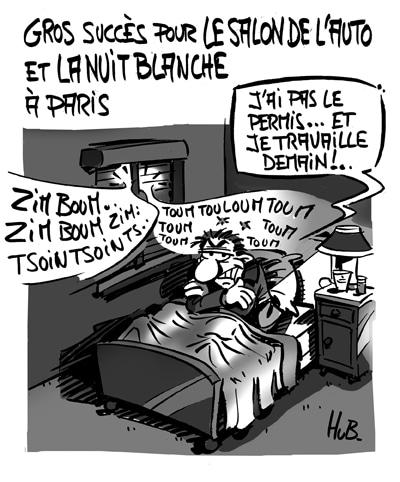 Salon de l'Auto et Nuit Blanche à Paris