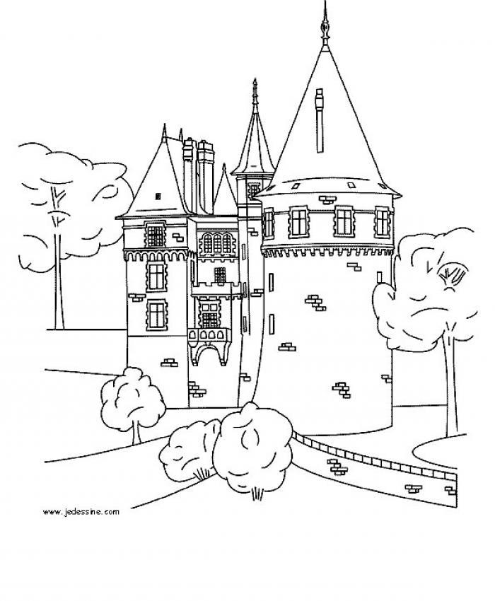 Le château enchanté – récit imaginaire