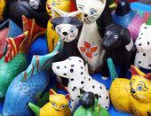 Des jouets sous surveillance.